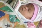 Bé gái 1 tháng tuổi bị bỏ rơi gần chùa ở Thái Nguyên