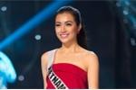 Lệ Hằng xinh đẹp rạng rỡ tham gia tổng duyệt trước Chung kết Hoa hậu Hoàn vũ 2016