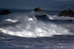 Áp thấp nhiệt đới trên đất liền, mưa dông gió mạnh trên biển
