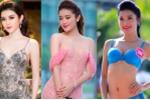 Nhan sắc sexy của Huyền My trước ngày thi 'Hoa hậu Hoà bình Quốc tế'