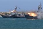 Dàn chiến hạm phô diễn sức mạnh trong ngày Hải quân Nga