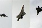 Video: Xem phi công Mỹ 'làm xiếc' với siêu chiến cơ F-22