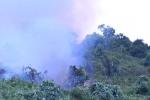 Nhiều tiếng nổ lớn ở đám cháy rừng đặc dụng Nam Hải Vân