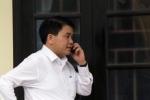 Chủ tịch Hà Nội Nguyễn Đức Chung làm việc qua điện thoại với đại diện dân Đồng Tâm