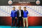 Futsal Sanna Khánh Hòa sẵn sàng đấu giải Futsal CLB Đông Nam Á 2017