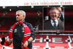 Mourinho ngầm khẳng định được Sir Alex Ferguson che chở, không quên mỉa mai Wenger