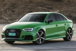 Cận cảnh mẫu sedan Audi RS3 2018 giá từ 1,2 tỷ đồng