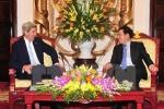 Bộ trưởng Ngoại giao tiếp cựu Ngoại trưởng Mỹ John Kerry