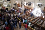 Bom phát nổ tại nhà thờ Ai Cập, xác người nằm la liệt