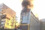 Lại cháy quán karaoke dữ dội ở Bắc Ninh