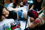 Thiếu nữ Hà thành khoe hình xăm đẹp tại lễ hội xăm hình nghệ thuật Quốc tế 2016