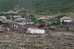 Giật mình hình ảnh Triều Tiên hoang tàn trong trận lũ lụt khủng khiếp