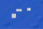 Đã xác định được vị trí tàu Hải Thành 26 bị chìm