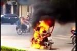 Đốt xe máy gần bốt CSGT ở Thái Bình, Công an tỉnh nói gì?