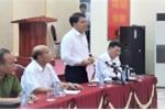 Ông Nguyễn Đức Chung: 'Đề nghị người dân sớm thả người và tháo dỡ chướng ngại vật'