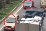 Xác định chủ phương tiện đi ngược chiều trên cao tốc Hà Nội - Bắc Giang