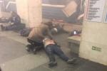 Video, ảnh: Hiện trường đẫm máu vụ nổ ga tàu điện ngầm ở Nga