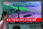 Trần bay khủng khiếp của tên lửa Triều Tiên vừa phóng trong đêm