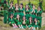 Ấn tượng ảnh kỷ yếu 'Chúng tôi là chiến sĩ' của học sinh Bắc Giang