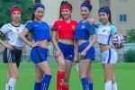 Dàn hot girl Việt gợi cảm trong trang phục thể thao tiếp lửa Euro 2016