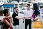 Cong Vinh, Thuy Tien ghi hinh cho kenh truyen hinh nuoc ngoai hinh anh 1