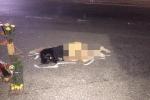 Tá hỏa phát hiện người phụ nữ chết lõa thể trên quốc lộ