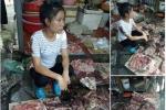 Bán rẻ thịt lợn bị hắt dầu luyn trộn chất thải: Hành vi 'hàng cá hàng thịt', thiếu tình người