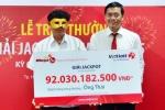 Kỳ quay xổ số Vietlott chiều nay, giải thưởng có thể vượt 105 tỷ đồng
