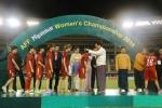 Cầu thủ nữ Việt Nam không muốn nhận huy chương vì quá bức xúc