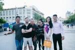 Cong Vinh, Thuy Tien ghi hinh cho kenh truyen hinh nuoc ngoai hinh anh 8
