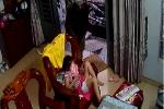 Tên cướp giật ipad của bé gái đang ngồi chơi trong nhà