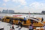 Ảnh: Trải nghiệm tuyến buýt đường thủy đầu tiên trên sông Sài Gòn