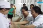 TP.HCM ngập lịch sử, y tá rủ nhau... bắt lươn trong bệnh viện