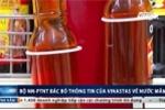 Công bố nước mắm chứa asen của Vinatas bị Bộ NN&PTNT bác bỏ