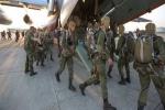 Lính dù Nga được điều động đột xuất đến Crưm