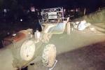 Chạy xe lạng lách, nam thanh niên đâm vào công nông chết thảm