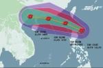 Bão Nida di chuyển phức tạp, tiến thẳng vào Biển Đông