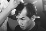 Minh Thuận cạo tóc đóng NSND Trần Hiếu