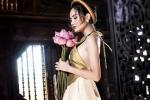 Hoa hậu Đông Nam Á Diệu Linh khoe lưng trần nõn nà