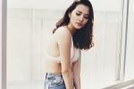 Hoa hậu Diệu Linh diện bikini gợi cảm khoe thân hình nóng bỏng