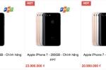Bất ngờ iPhone 7 chính hãng bán dưới giá đề xuất 2 triệu đồng