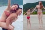 Hồ Ngọc Hà và Kim Lý bí mật đưa Subeo đi chơi?