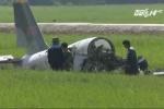 Rơi máy bay quân sự ở Phú Yên: 'Phi công Phạm Đức Trung hành động rất dũng cảm'