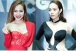 Minh Hằng diện đồ cắt xẻ táo bạo, đọ vẻ sexy với Phương Trinh Jolie