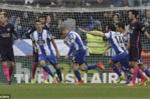 Thua sốc Deportivo, Barcelona hụt bước tới ngôi vô địch