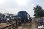 Tìm ra nguyên nhân tàu trật bánh khỏi ray 2 lần tại một vị trí ở Hà Nội