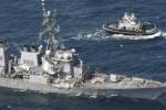 Tàu khu trục Mỹ đã bị tàu hàng Philippines đâm thủng: Thông tin mới bất ngờ