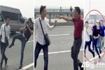 Phóng viên bị 'gạt tay vào má' trên cầu Nhật Tân: Công an huyện Đông Anh thừa nhận gây thương tích cho phóng viên