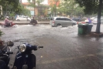 Ghi nhận tại Xã Đàn, mực nước ngập sâu đến 40 cm. (Ảnh: FB)