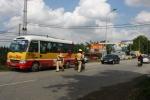 CSGT Hà Nội xử lý nhiều xe buýt vi phạm luật giao thông